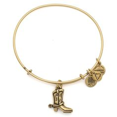 Alex and Anis charity by design Cowboy Boot Charm Bangle. ...