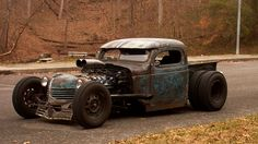 Rat Rod Truck....cool..