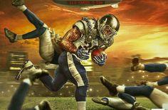 Gurley powers the Rams to 😤 Superbowl Champions, La Rams, American Football, Football Team, Raiders, Cheerleading, Nfl, 4 Life