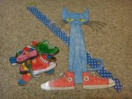 lots of classroom printable for Pete the Cat