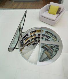 Spiral Cellar Design Makes Your Home Memorable - http://freshome.com/spiral-cellar-design-makes-your-home-memorable/