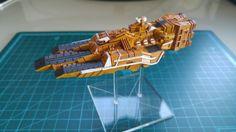 [Firestorm Armada] Rense System Navy - Garuda class Carrier