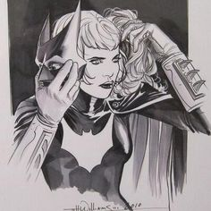 Kate Kane / Batwoman by JH Williams III. My pride and joy.