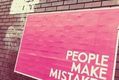 People Make Mistakes, Making Mistakes, Letter Board, Lettering, How To Make, Home Decor, Make Mistakes, Decoration Home, Room Decor