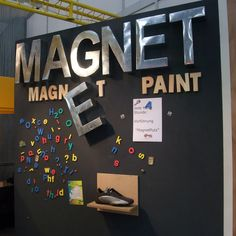 Magnet(ism)Paint About Magnetism and MagnetPaint Why some magnets hold up to 20 sheets of A4 copypaper and others, uhm … well … only one. Hardly. Chapters Magnetism Coat thickness Better magnetism by a smooth surface Magnetic foil: strong magnetism Magnetism First of all: MagnetPaint is not magnetic, it is ferromagnetic. Like ordinary iron. This means …