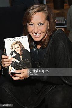 Fashion designer Donna Karan attends Donna Karan's 'My Journey' Book Release Party at Urban Zen on October 14, 2015 in New York City.