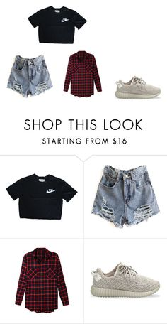 """""""Untitled #284"""" by moonlightprincess93 on Polyvore featuring LE3NO and adidas Originals"""
