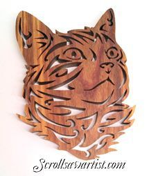 Scroll Saw Patterns - More #WoodworkingIdeas
