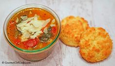 Gourmet Girl Cooks: Parmesan Biscuits - Low Carb