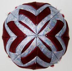 Folded Star Fabric Ornaments Gallery 2