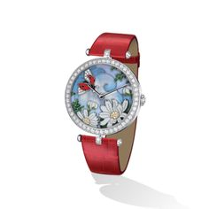 Each dial is designed like a miniature picture, with traditional crafts coming together to form lavish compositions. Expensive Watches, Van Cleef Arpels, Patek Philippe, Decoration, Lady, Jewels, Clocks, Silver, Gold