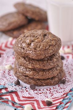 Chocolate Cookies - a Chocolate Overload Cookie! - your homebased mom