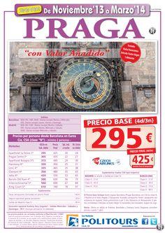 PRAGA, salidas del 10/02 al 31/03 desde Mad y Bcn (4d/3n) p.f 425€ valor añadido ultimo minuto - http://zocotours.com/praga-salidas-del-1002-al-3103-desde-mad-y-bcn-4d3n-p-f-425e-valor-anadido-ultimo-minuto/