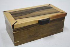 Gorgeous handmade wooden box from Chris Ross