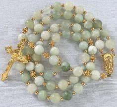 New Jade Catholic Rosary