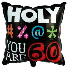 Holy Bleep 60 Foil Balloon, 74523