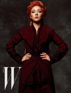 2NE1 Dara - W Magazine November Issue '15
