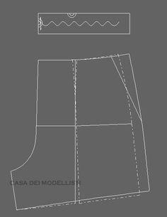 '라룸' 스타일 고무줄 린넨 반바지 패턴 만들기(WAPT082318)
