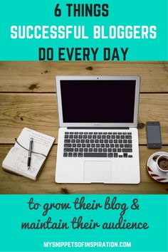 I cannot tell you how much completing these daily #tasks for my #blog has helped it GROW GROW GROW!