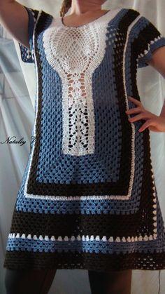 Fabulous Crochet a Little Black Crochet Dress Ideas. Georgeous Crochet a Little Black Crochet Dress Ideas. Crochet Shrug Pattern Free, Col Crochet, Crochet Woman, Sweater Knitting Patterns, Crochet Poncho, Crochet Bodycon Dresses, Black Crochet Dress, Crochet Blouse, Crochet Summer Tops