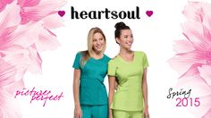 Deluxe yet durable designs with a touch of romance. #heartsoulscrubs, #pictureperfect