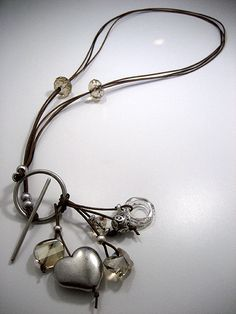Zandstorm: Lange hanger (Juwelen,halsketting)