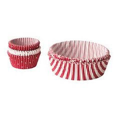 JULKUL baking cup, paper, assorted sizes, red Package quantity: 200 pack Package quantity: 200 pack