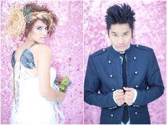 Rock Star wedding theme-outfit idea 1