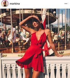 red, dress, and fashion image – Fashion // Summer Outfits Fashion // Summer Outfits / rot, kleid und mode bild Glamouröse Outfits, Spring Outfits, Fashion Outfits, Fashion Clothes, Red Clothing, Clothing Sites, No Clothes, Couture Summer Outfits, Pretty Clothes