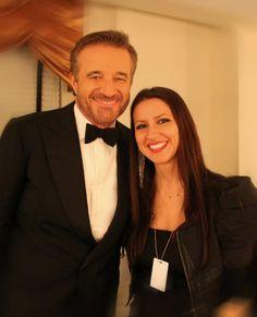 L!SA with actor Christian De Sica