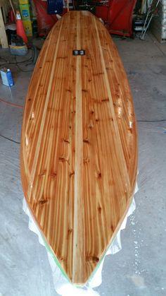 Customer GaryB TSS hollow wood SUP KIT from Tucker Surf Supply. http://www.tuckersurfsupply.com/