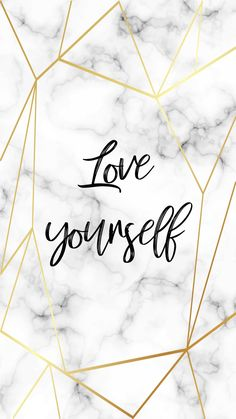 iphone wallpaper marble Love yourself - wallpaper quotes - yourself sign Hello Wallpaper, Marble Iphone Wallpaper, Iphone Wallpaper Quotes Love, Words Wallpaper, Iphone Background Wallpaper, Colorful Wallpaper, Disney Wallpaper, Aesthetic Iphone Wallpaper, Quote Backgrounds