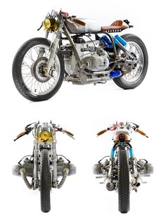 Kingston Custom has just built probably the world's first forced-induction BMW R100/7.