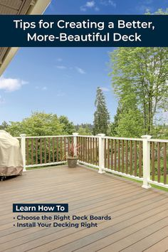 Learn how to build a deck that's more beautiful, comfortable, and longer-lasting. || #kregjig #kregtool #kreg #tools #DIY #diyproject #deck #decking #backyard #summer #entertaining #outdoors #woodworking #woodprojects Diy Wood Projects, Outdoor Projects, Kreg Tools, Cool Deck, House Deck, Kreg Jig, Backyard, Patio, Building A Deck