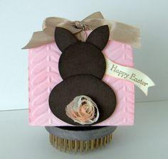 Debbie's Creative Spot: Happy Easter Bunny Treat