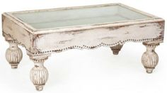 I love the idea of a Shadow Box Coffee Table but this one is not quite it!