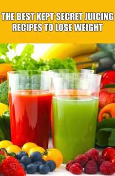 The Best Kept Secret Juicing Recipes To Lose Weight ~ Life Tips And More !
