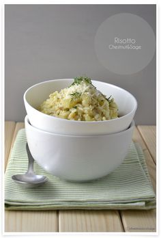 Chestnut and Sage Risotto