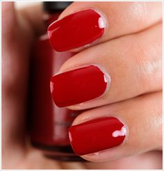 China Glaze Adventure Red-y Nail Lacquer