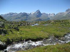 oberhalb der Alp Flix im Kanton Graubünden
