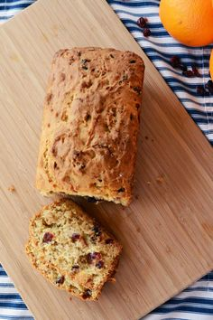 citrusy cranberry coconut quickbread — A Sweet Simple Life