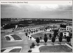 Piața Berlin, astăzi Charles de Gaulle Old Pictures, Old Photos, Gaulle, Bucharest Romania, Berlin, Time Travel, Paris Skyline, Dolores Park, Memories