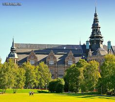 Nordic Museum, Stockholm, Sweden - I missed this when I was there, but would like to visit it.