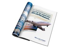 """Realization wanted to publicize their new eBook, """"Optimizing MRO Delivery: Faster Turnarounds, Higher Throughput,"""" in an upcoming issue of MRO Magazine, a publication for machinery and equipment maintenance professionals across Canada. Inbound Marketing, Portfolio Design, Delivery, Canada, Magazine, Creative, Portfolio Design Layouts, Magazines, Warehouse"""