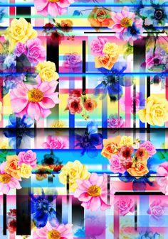 Floral geométrico - Renauxview