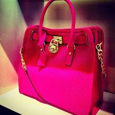 Hot Pink Bag! - Secrets of stylish women