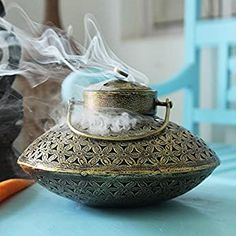 Spiritual Decor, Meditation Room Decor, Brass Door Handles, Pooja Rooms, Incense Holder, Hanging Pots, Incense Burner, New Home Gifts, Wall Hanger