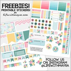 FREE Planner Printable Stickers