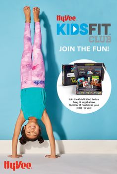 Hy-Vee KidsFit is here to help you and your kids have a great summer! This interactive online training program helps kids and families get moving and have fun! Sign up to get the latest in-home activities, recipes, challenges, prizes, and exclusive deals. And read our tips for preparing for the best summer ever! Home Activities, Educational Activities, Physical Activities, Itchy Eyes, Get Moving, Free Summer, Best Self, Go Outside, Training Programs