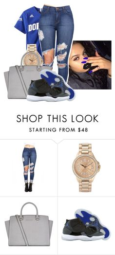 """Untitled #55"" by badleaa on Polyvore featuring Juicy Couture, MICHAEL Michael Kors, Retrò and Lime Crime"